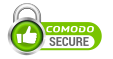 Secured with a Comodo EV SSL